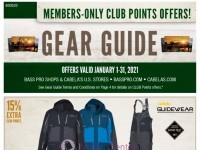 Bass Pro Shops (January Gear Guide - Pacific) Flyer