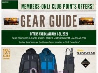 Bass Pro Shops (January Gear Guide - South) Flyer