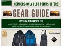 Bass Pro Shops (January Gear Guide - West) Flyer