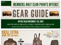 Bass Pro Shops (November Gear Guide - South) Flyer