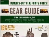 Bass Pro Shops (November Gear Guide - West) Flyer