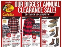 Bass Pro Shops (Our Biggest Annual Clearance Sale - Pacific) Flyer