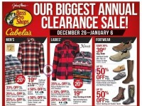 Bass Pro Shops (Our Biggest Annual Clearance Sale - West) Flyer