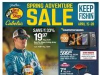 Bass Pro Shops (Spring Adventure Sale - North) Flyer