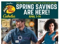 Bass Pro Shops (Spring Savings Are Here - South) Flyer