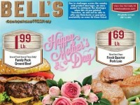 Bell's Food Stores (Happy Mother's Day) Flyer