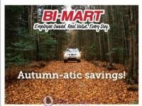 Bi-Mart (Autumn atic savings) Flyer