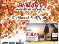 Bi-Mart (cozy like cookies and coffee) Flyer