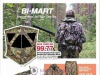 Bi-Mart (Gear up for fall Hunting) Flyer