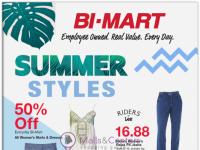 Bi-Mart (Summer styles) Flyer
