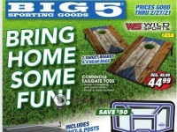 Big 5 Sporting Goods (Bring Home Some Fun) Flyer