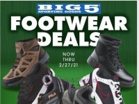 Big 5 Sporting Goods (Footwear Deals) Flyer