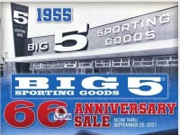 Big 5 Sporting Goods (Special Offer) Flyer