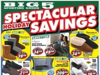 Big 5 Sporting Goods (Spectacular Holiday Savings) Flyer