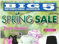 Big 5 Sporting Goods (Spring Sale) Flyer
