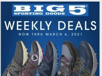 Big 5 Sporting Goods (Weekly Deals) Flyer