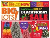 Big Lots (Black Friday Sale) Flyer