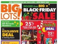 Big Lots (Exclusive Deal) Flyer