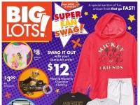 Big Lots (Super Fan Swag) Flyer