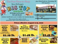 Big Top Markets (The Fun Place To Shop) Flyer