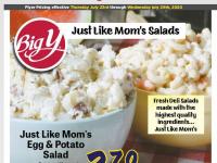 Big Y (Big Y Deli Salads) Flyer