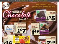 Big Y (Chocolate Month) Flyer