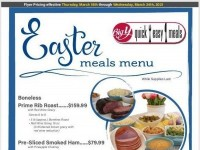 Big Y (Easter Meals) Flyer