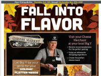 Big Y (Fall into flavor) Flyer