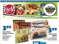 Big Y (Frozen Food Month) Flyer