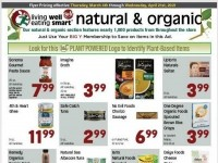 Big Y (Natural and Organic) Flyer