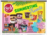 Big Y (Summertime Treat) Flyer