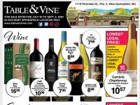 Big Y (Table and vine) Flyer