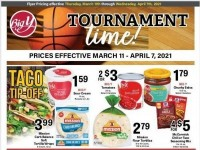 Big Y (Tournament Time) Flyer