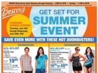 Boscov's (Get Set for Summer event) Flyer