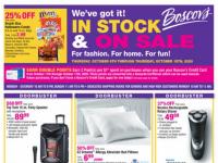 Boscov's (In stock & On Sale) Flyer