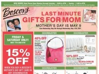 Boscov's (Last Minute Gift For Mom) Flyer
