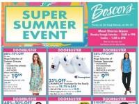 Boscov's (Super Summer Sale) Flyer