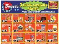 Boyer's Food Markets (3 Month Lockdown Pricing) Flyer