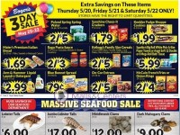 Boyer's Food Markets (Massive Seafood Sale) Flyer