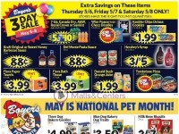 Boyer's Food Markets (May Is National Pet Month) Flyer