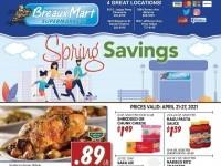 Breaux Mart (Spring Savings) Flyer