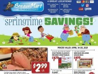 Breaux Mart (Spring time savings) Flyer