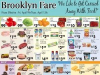 Brooklyn Fare (We Like To Get Carried Away With Food) Flyer