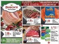 Busch's Fresh Food Market (happy Holidays) Flyer