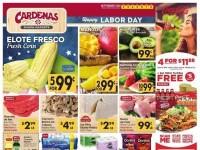 Cardenas Market (Happy labor day) Flyer
