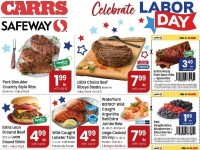 Carrs (Celebrate labor day) Flyer