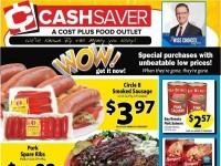 Cash Saver Cost Plus Food Outlet (Special Offer) Flyer