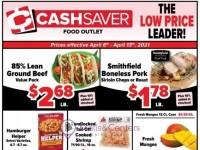 Cash Saver Food Outlet (The low prices leader) Flyer