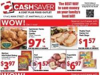 Cash Saver South (Special offer - St Martinville) Flyer