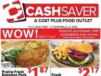 Cash Saver South (Special Offer - St. Martinville) Flyer
